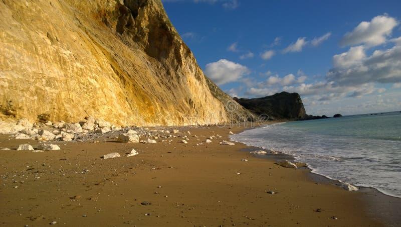 A costa jurássico, Dorset fotos de stock