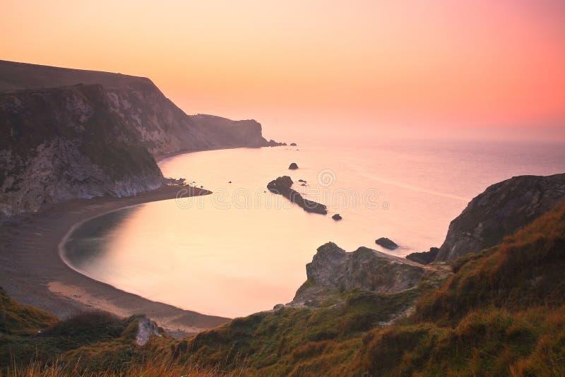 Costa jurássico em Dorset, Reino Unido imagem de stock royalty free