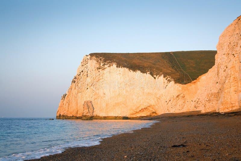 Costa jurássico em Dorset, Reino Unido imagens de stock royalty free