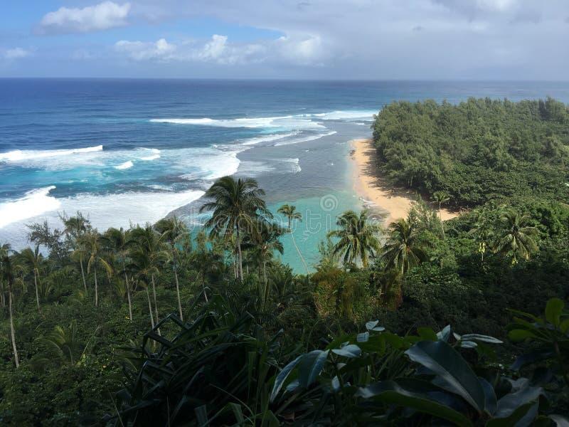 Costa Kauai di Napali immagine stock libera da diritti