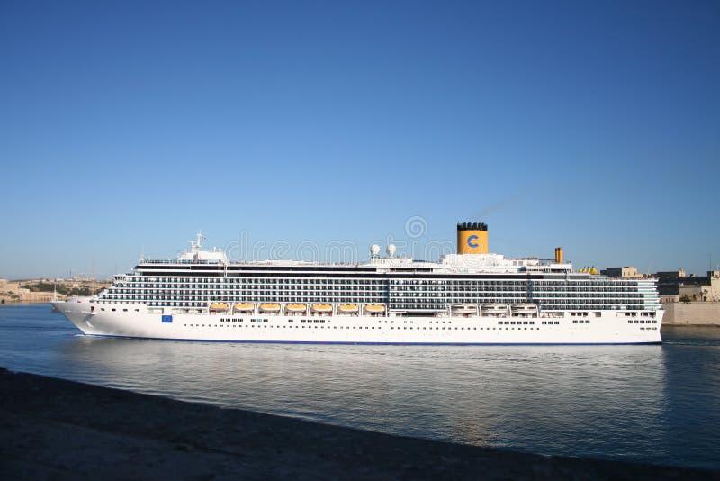 Costa-Kreuzschiff stockbild