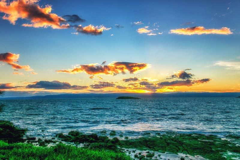 Costa leste tasmaniana fotos de stock royalty free