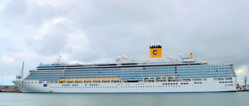 Costa Luminosa Cruise imagens de stock