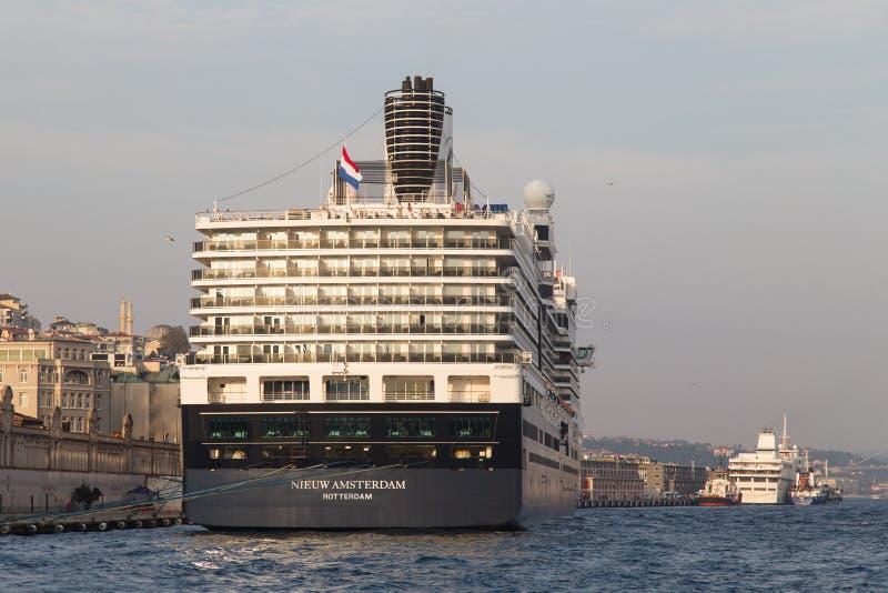 Costa Luminosa del barco de cruceros fotografía de archivo