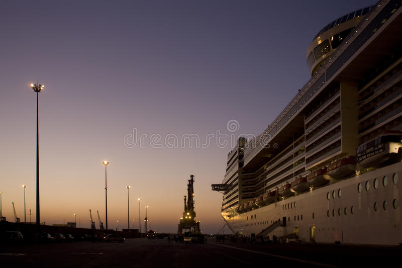 Costa Luminosa della nave da crociera immagine stock