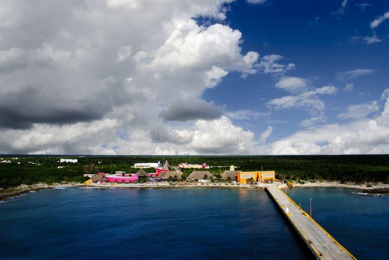 Costa Maya Mexico stock photography