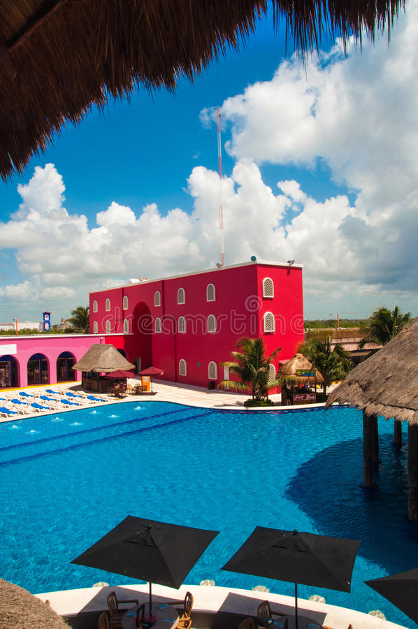 Costa Maya Resort fotografia de stock royalty free