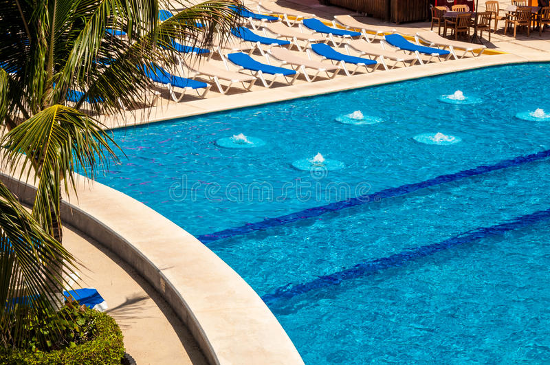 Costa Maya Resort imagens de stock royalty free