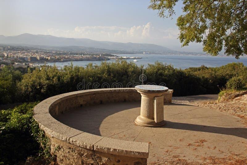 Costa mediterrânea, Antibes, d'Azur da costa, França fotos de stock