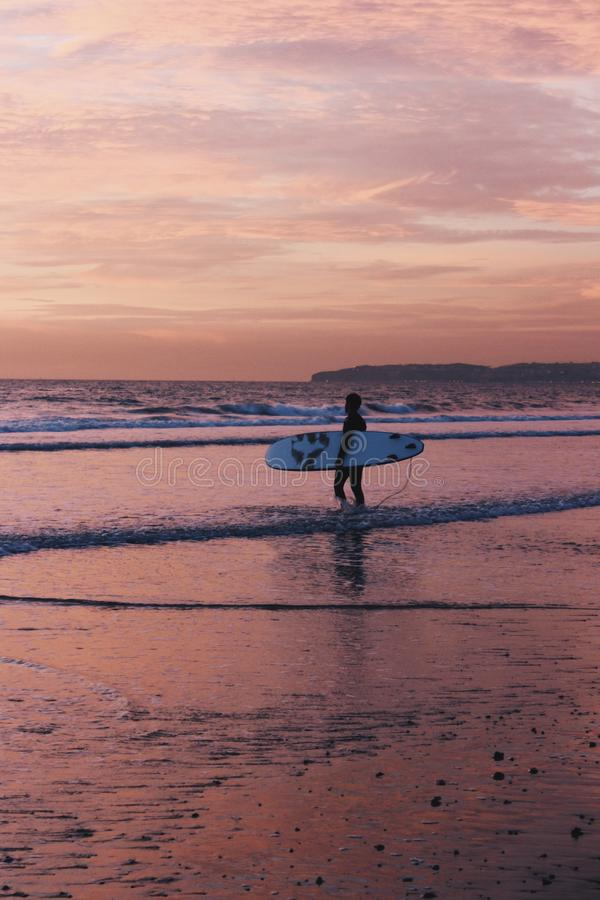 Costa meridional de California imagenes de archivo