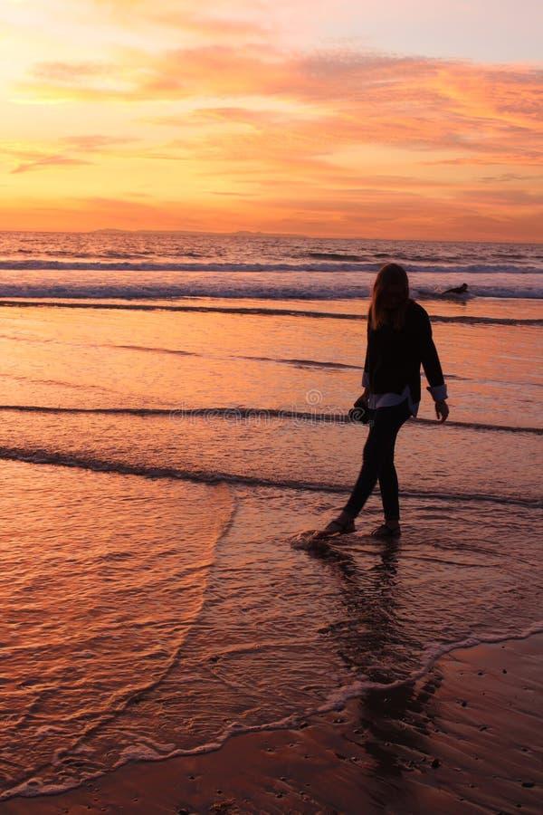Costa meridional de California imagen de archivo