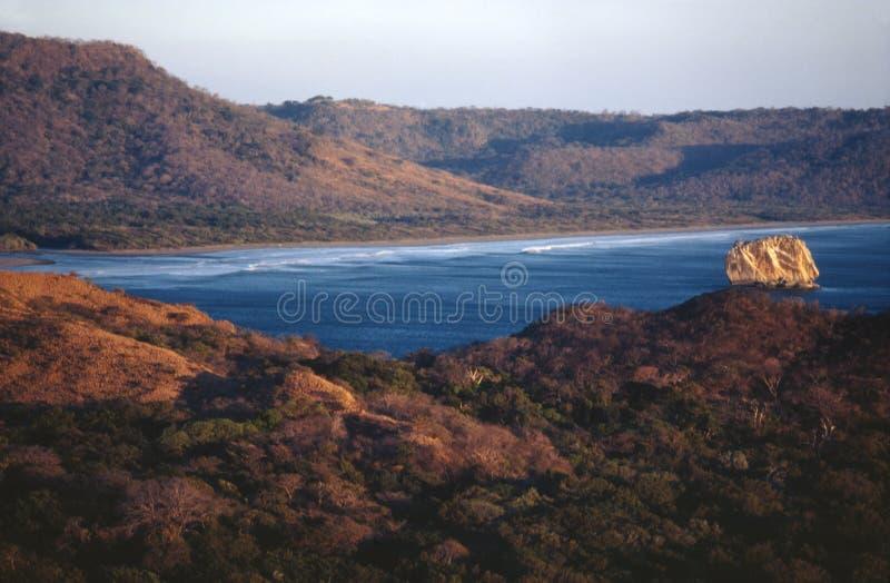 costa naranjo parku narodowego playa rica Santa Rosa obraz stock