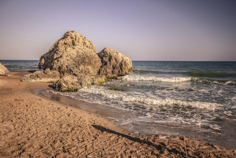 Costa natural de Sicilia 2 fotografía de archivo libre de regalías