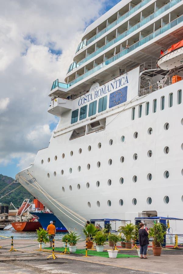 Costa Neoromantica Cruise-schip royalty-vrije stock fotografie