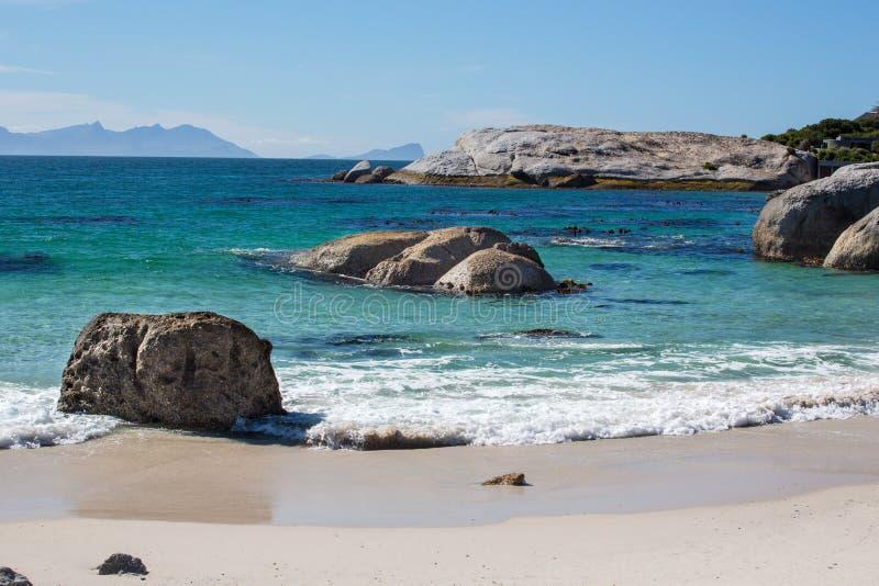 A costa no ponto do cabo em África do Sul imagens de stock royalty free