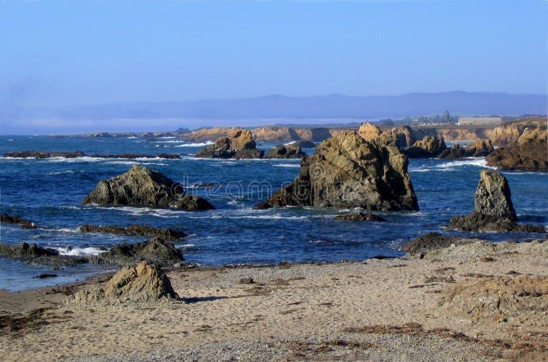 Costa norteña de California imagenes de archivo