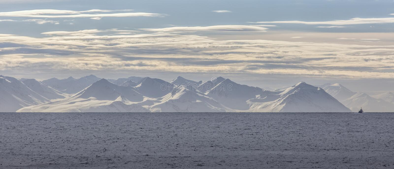 A costa norte de Islândia fotografia de stock royalty free