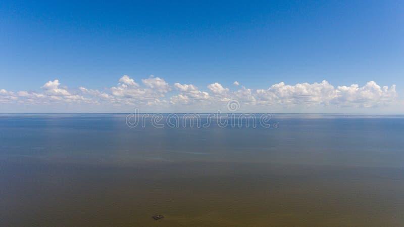 Costa ocidental da baía móvel, Alabama fotografia de stock royalty free