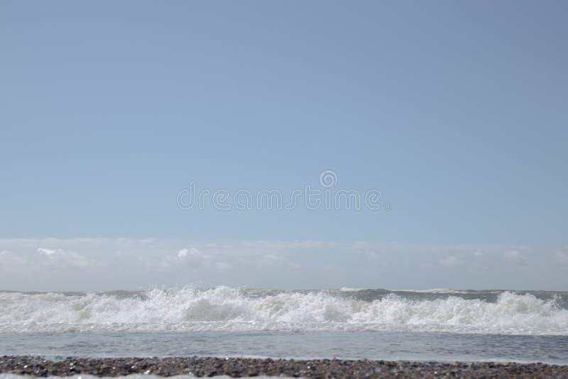 A costa ocidental de Dinamarca imagem de stock