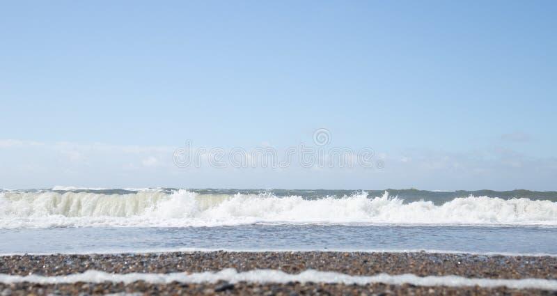 A costa ocidental de Dinamarca fotos de stock