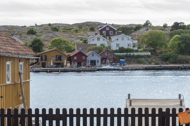 Costa oeste da Suécia foto de stock