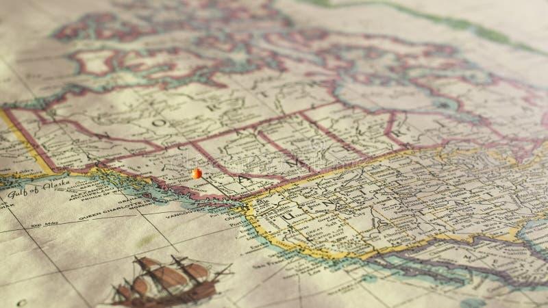 Costa oeste de la destinación foto de archivo libre de regalías