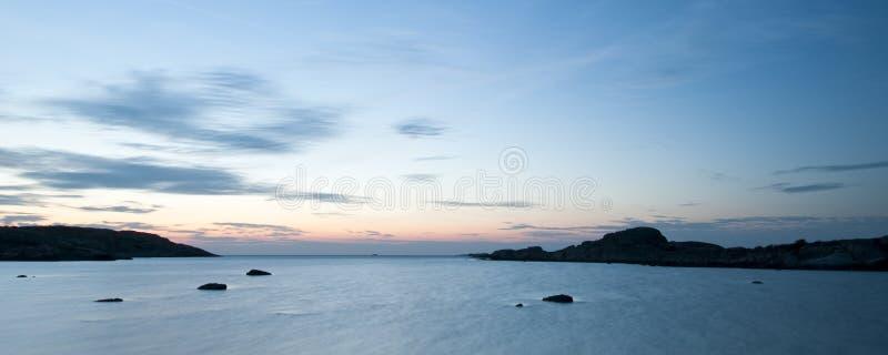 Costa oeste de Sweden foto de stock royalty free