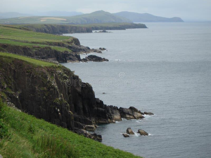 Costa oeste, Irlanda fotografia de stock