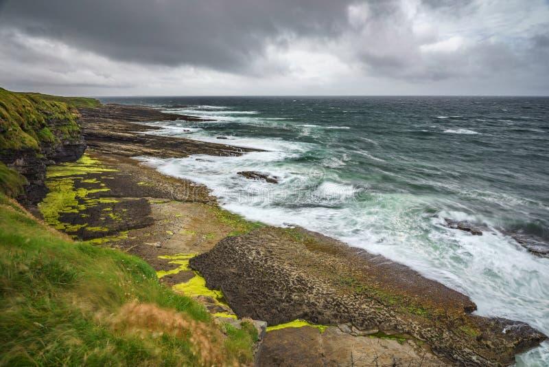 Costa oeste salvaje de Irlanda fotografía de archivo