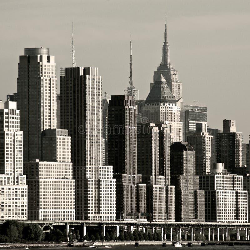 Costa Ovest di New York immagini stock