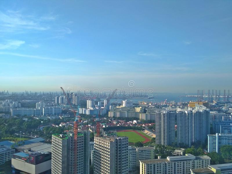 Costa ovest di Singapore fotografie stock libere da diritti
