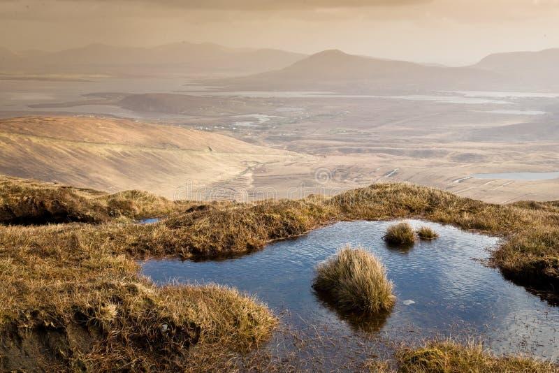 Costa ovest Irlanda fotografia stock
