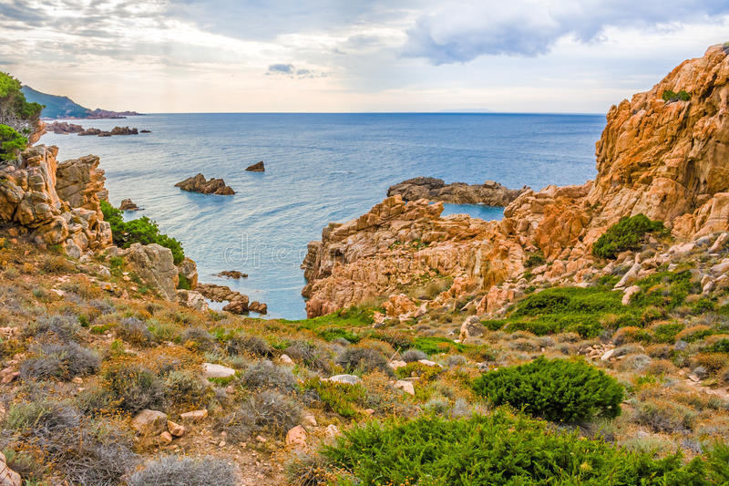 Costa Paradiso, Sardinia foto de stock royalty free