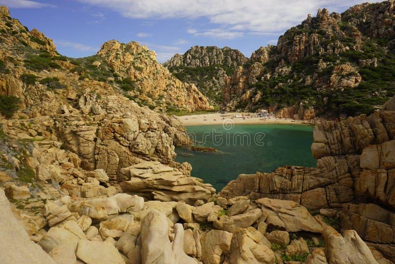 Costa Paradiso in Sardinia Italy royalty free stock image