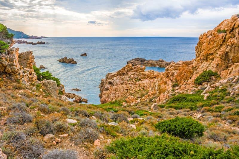 Costa Paradiso, Sardinia royalty free stock photo