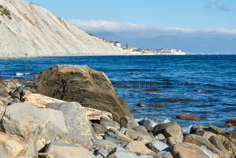 Costa Rússia do Mar Negro foto de stock