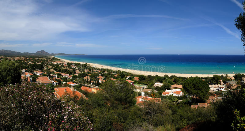 Costa Rei-Sardinia lizenzfreie stockfotografie