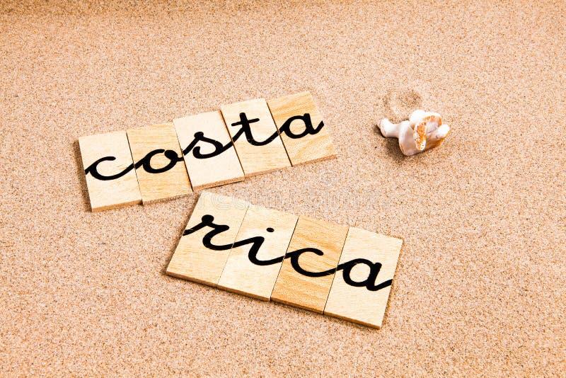 Download Costa Rica ilustracji. Ilustracja złożonej z plaża, maritimer - 53789000