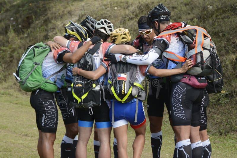 COSTA RICA ACCUEILLE RACE D'AVENTURIERS DU MONDE photo libre de droits