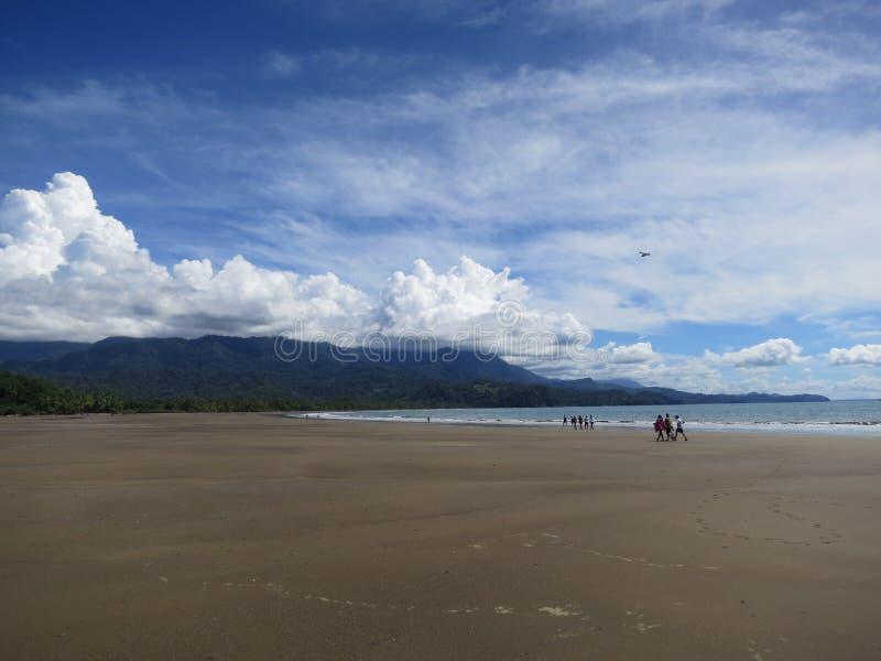 Costa Rica Beach royalty-vrije stock fotografie