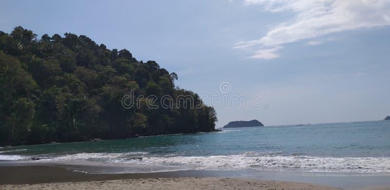 Costa Rica Beach, Manuel Antonio stockfoto
