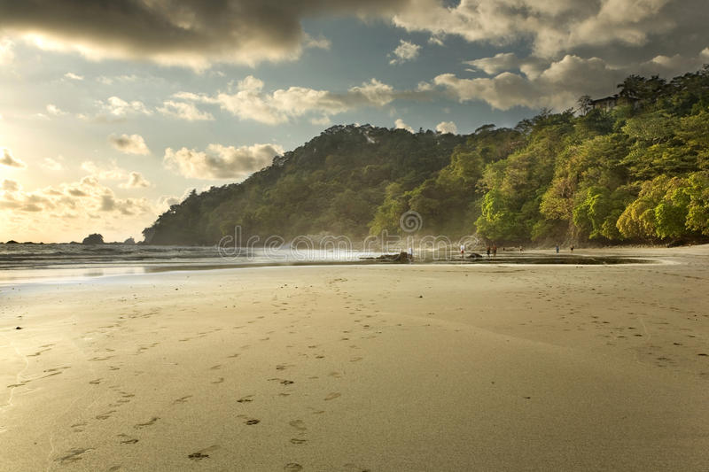 Download Costa Rica Beach At Sunset Stock Image - Image: 19905201