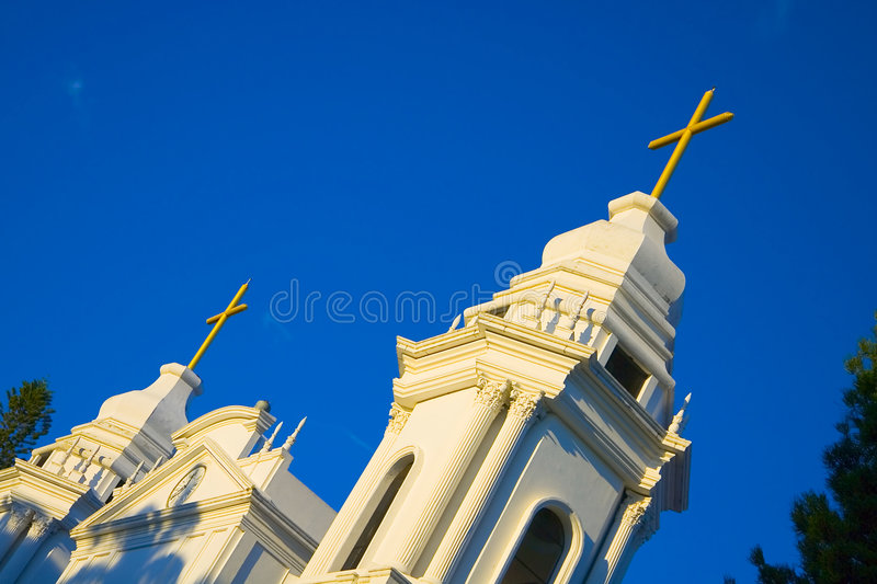 Costa Rica Church in Alajuela royalty free stock image
