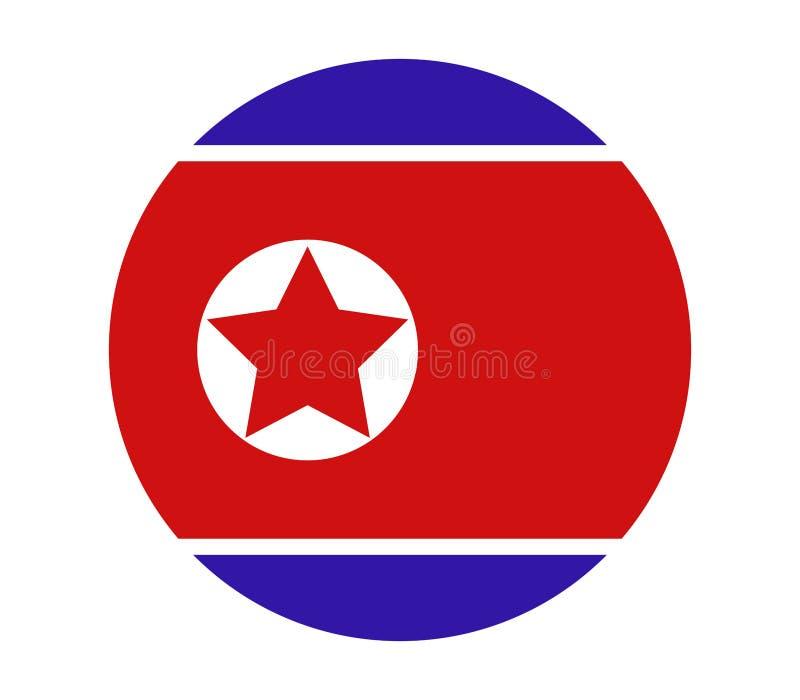 Costa Rica flagga stock illustrationer