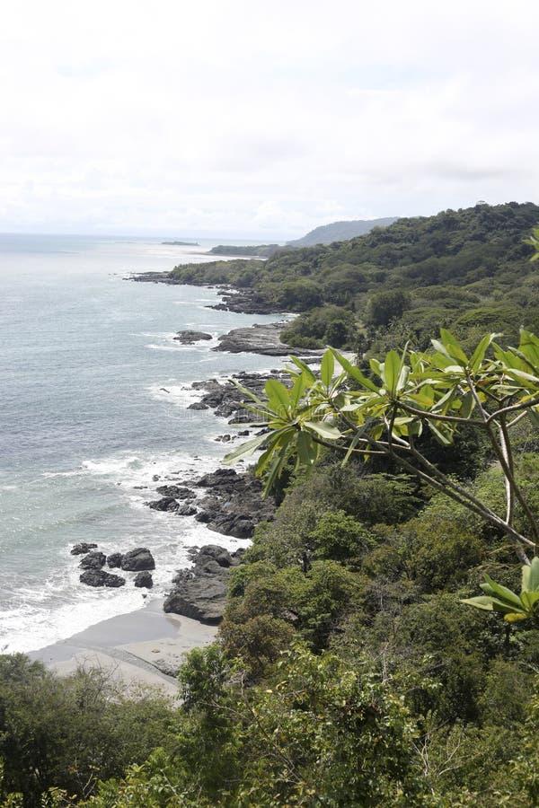 Costa Rica linia brzegowa zdjęcia stock