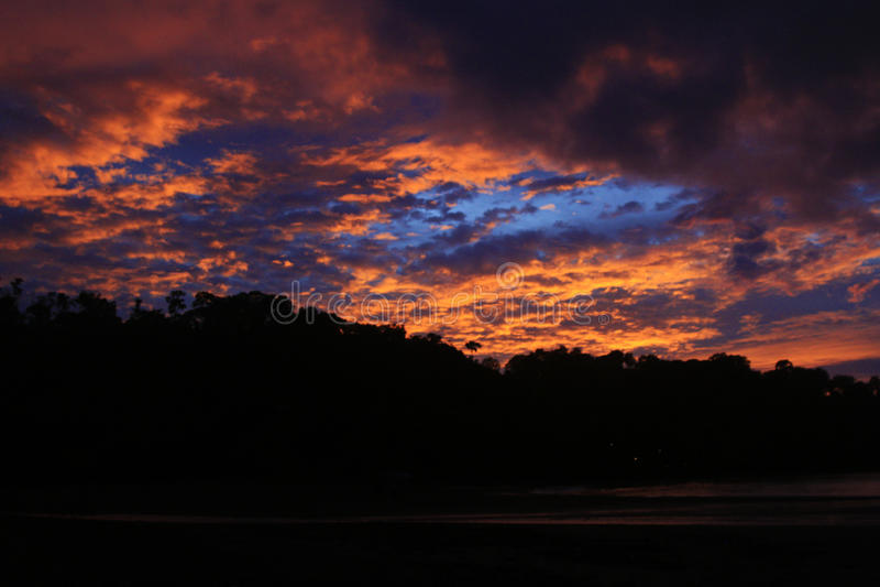Costa Rica och Panama natur och landskap Amerika lopp wanderlust royaltyfri fotografi