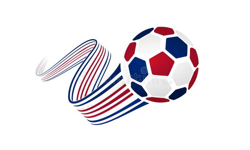 Costa Rica piłki nożnej drużyna royalty ilustracja