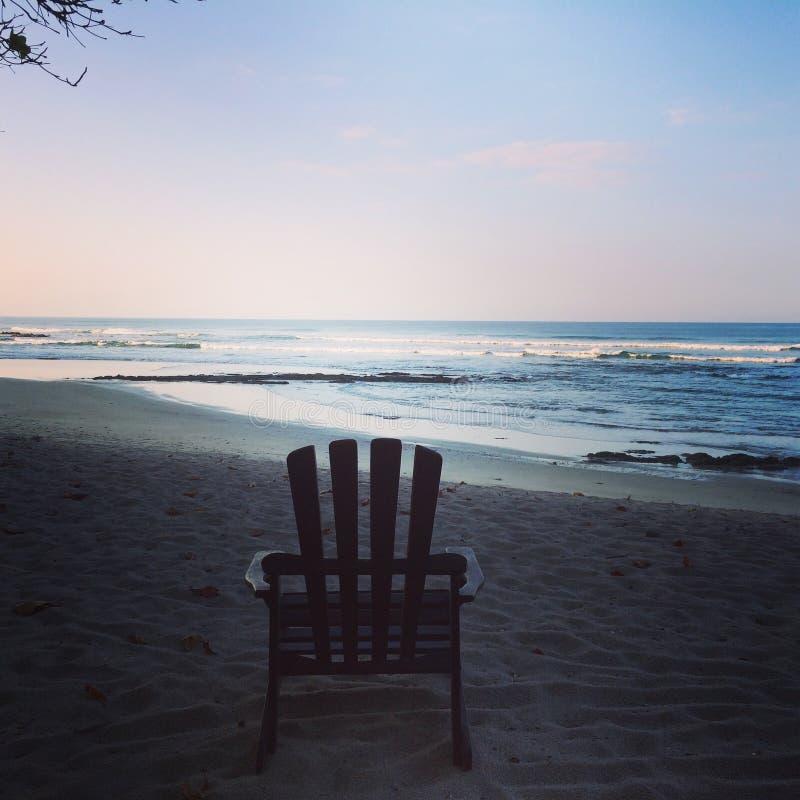 Costa Rica, Santa Teresa, Playa Hermosa, Pura Vida images stock