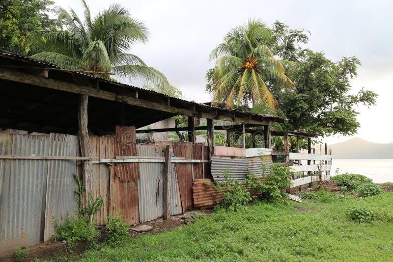 Costa Rica Shack stock afbeelding