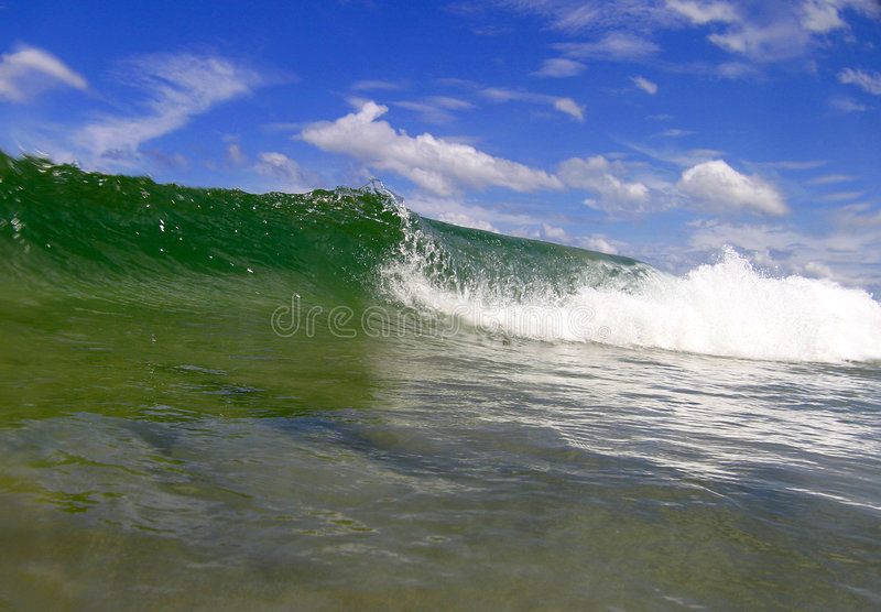 Costa Rica Surf Wave royalty free stock images